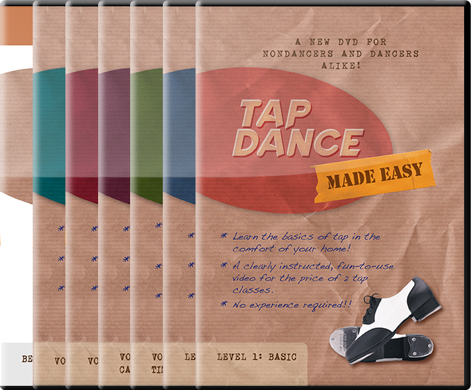 deluxe pack tap dance videos