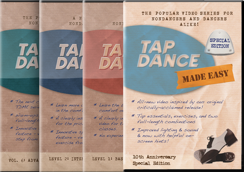 Tap Essentials Deluxe Video 4-Pack (Save 23%) (DVD + Digital)