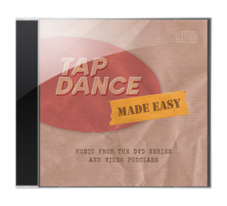 Music from Tap Dance Made Easy (mp3s -- Instant Download zip file)