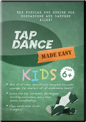 NEW! Digital Download of Tap Dance Made Easy: KIDS (instant download)