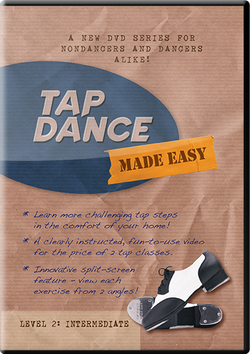 Digital Download of Tap Dance Made Easy Vol 2: Intermediate (instant download)
