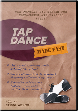 Streaming / Digital Download of Tap Dance Made Easy Vol 4: Cardio Workout (instant download)