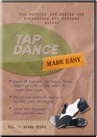 NEW RELEASE: Vol 7: Speed Steps (DVD or Digital Version) – Tap Dance ...