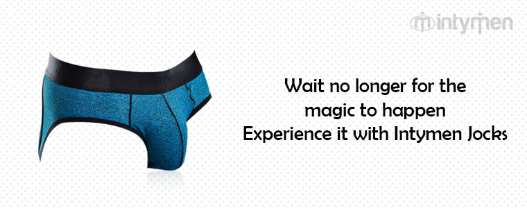 Wait no longer for the magic to happen - Experience it with Intymen Jocks