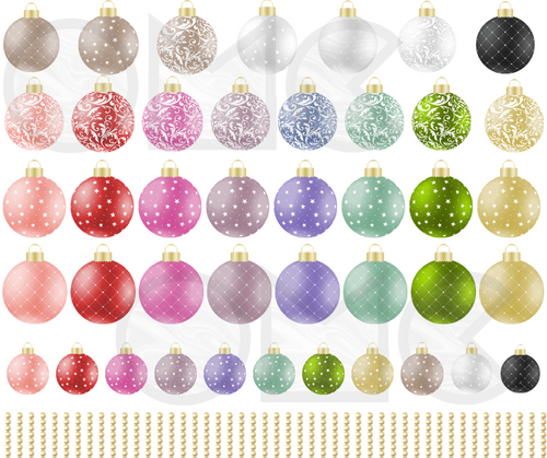 Water Decal - Baubles