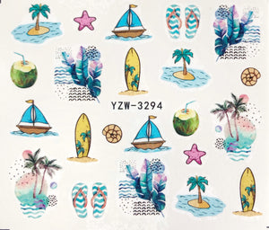 Water Decal - Summer Holiday