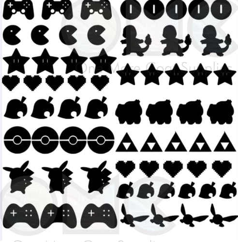 Gamer Vinyl Decals
