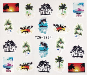 Water Decal - Tropical Holiday