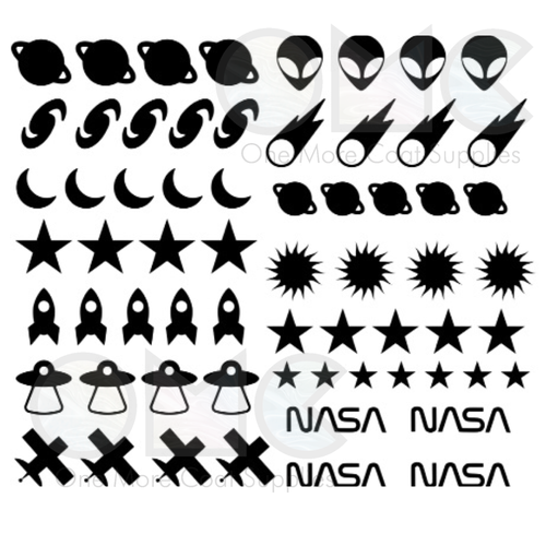 Space Vinyl Decals