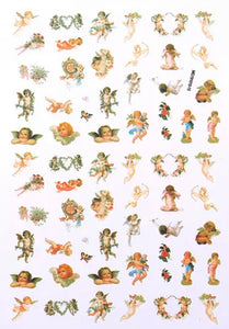 Nail Art Stickers: Cherubs