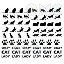 Load image into Gallery viewer, Cat Vinyl Decals
