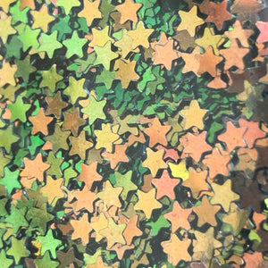 Colour Shifting Star Shaped Glitter
