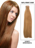 20 Pieces Tape In Hair Extension Honey Brown(#10)