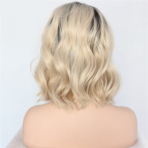Best Seller Long Wavy Blonde Lace Front Wig
