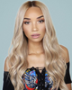 Lace Front Wavy Ash Blonde Wig