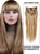 Ash Brown/Blonde(#8/613) 10 Piece Clip in hair Extension