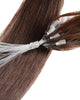 Dark Brown(#2) Micro Loop Ring Hair One Gram per Strand