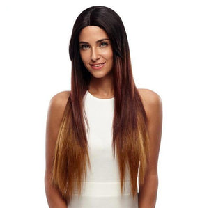 "30"" Straight New Lace Front Wig Ombre Color"