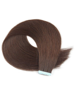 20 Pieces Tape In Hair Extension Medium Brown(#4)