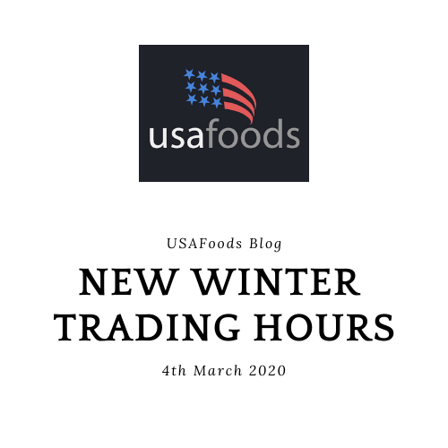 New Winter Trading Hours!