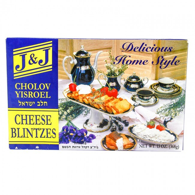 J&J Cheese Blintzes 13oz [Click & Collect Only]