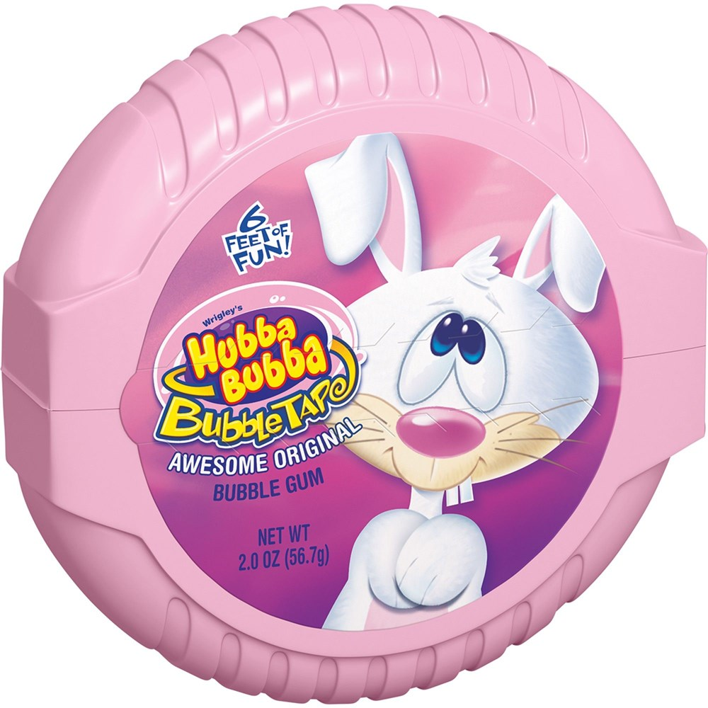 Hubba Bubba Awesome Original Easter Bubble Tape 6ft6ft