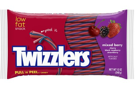 Twizzlers Mixed Berry Pull & Peel