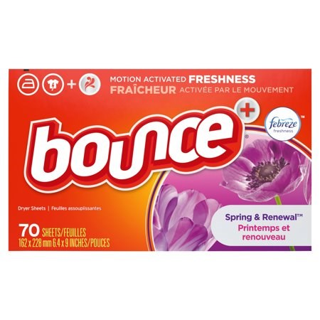 Bounce Spring & Renewal Fabric Softener  Dryer Sheets