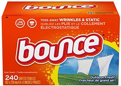 Bounce Outdoor Fresh Fabric Softener Dryer Sheets