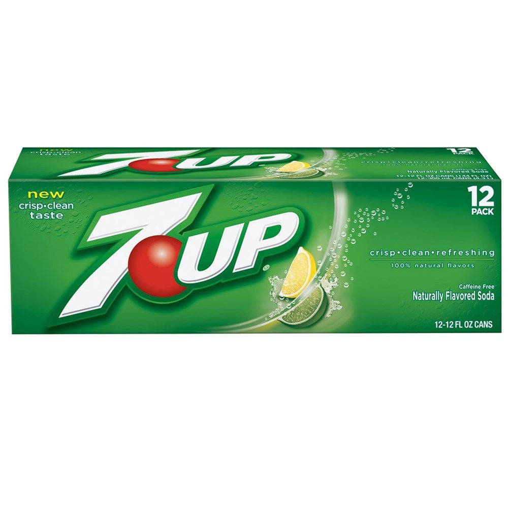 7up Lemon Lime Soda 12 Pack