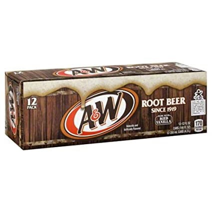 A&W Root Beer 12 Pack
