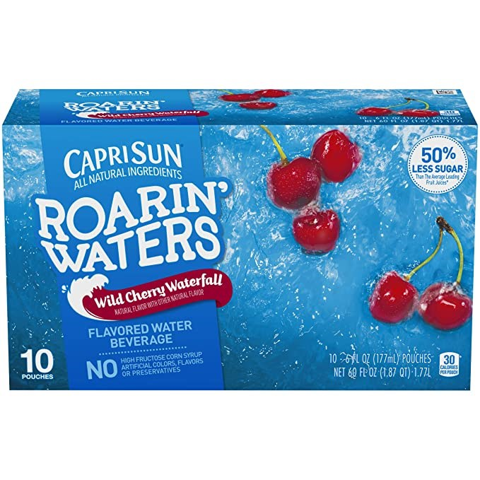 Capri Sun Roarin' Waters Wild Cherry Waterfall