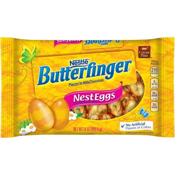 Nestle Butterfinger Nest Eggs