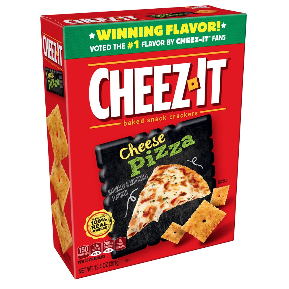 Cheez-It Cheese Pizza 12.4oz