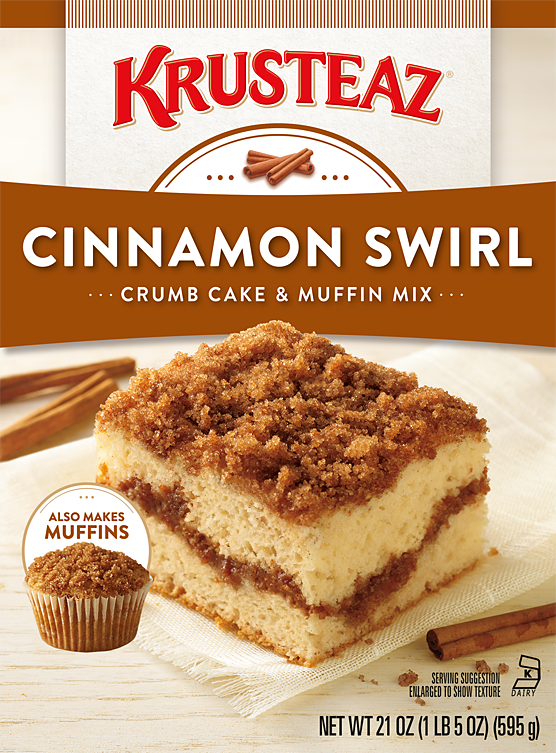 Krusteaz Cinnamon Crumb Cake & Muffin Mix