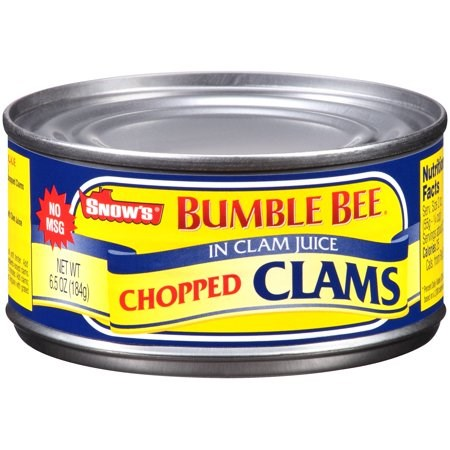 Bumble Bee Snow's Chopped Clams 6.5oz