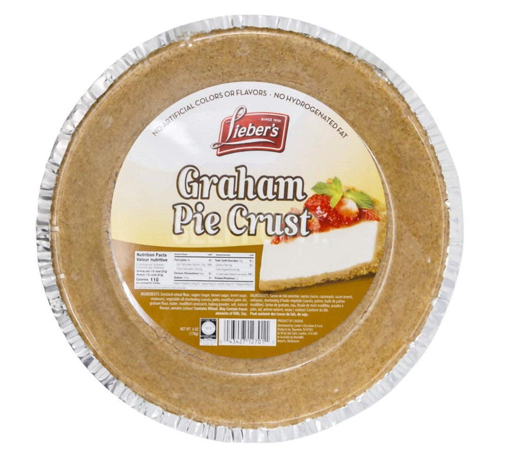 Lieber's Graham Pie Crust 6oz (9 inch)