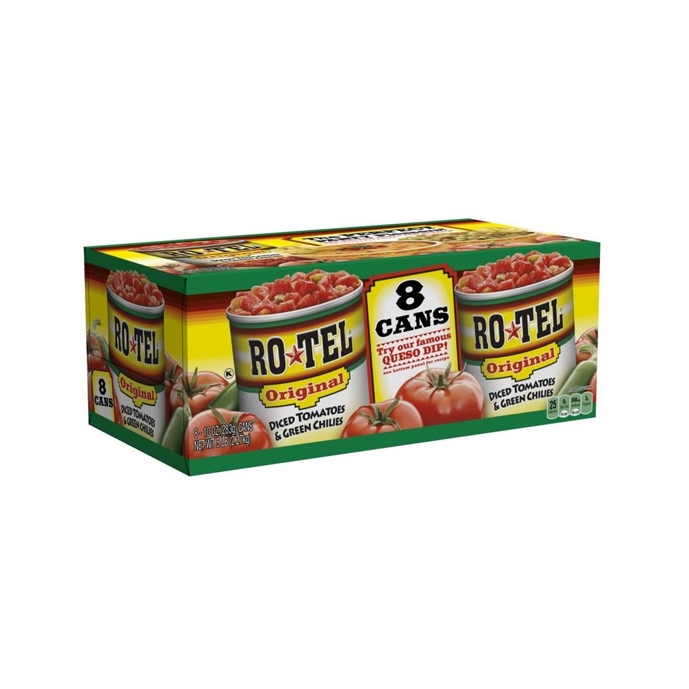 Rotel Diced Tomatoes Original 8pk