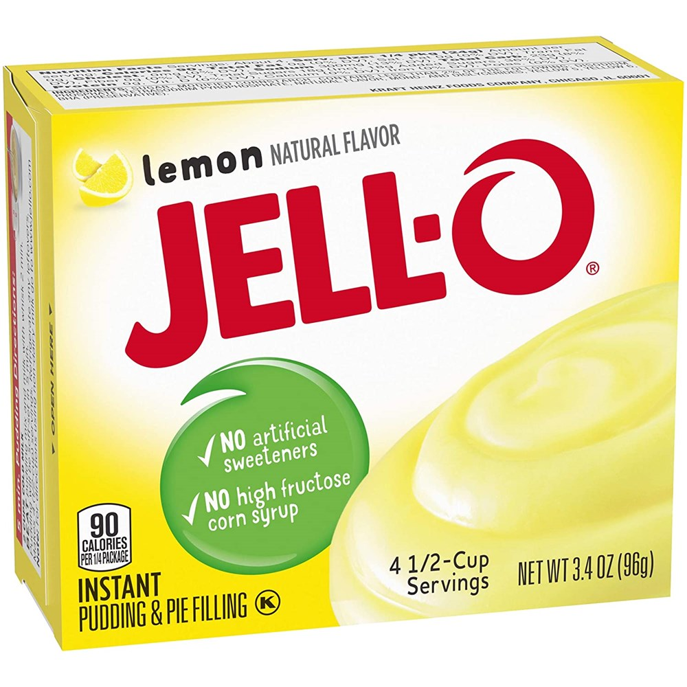 Jell-O Instant Lemon Pudding Mix