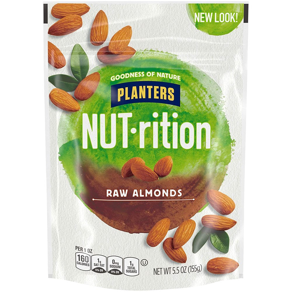 Planters NUT-rition Raw Almonds