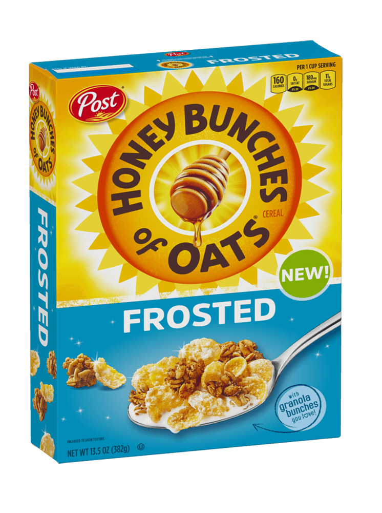 Frosted Honey Bunches of Oats Honey 13.5oz
