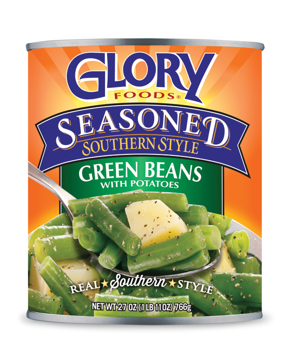 Glory Seasoned Green Beans with Potatoes