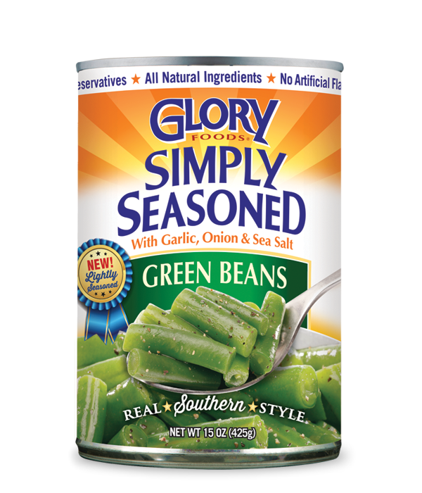 Glory Simply Seasoned Green Beans