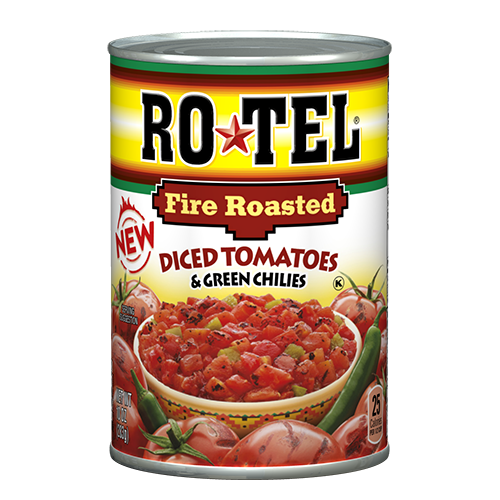 Rotel Diced Tomatoes Fire Roasted