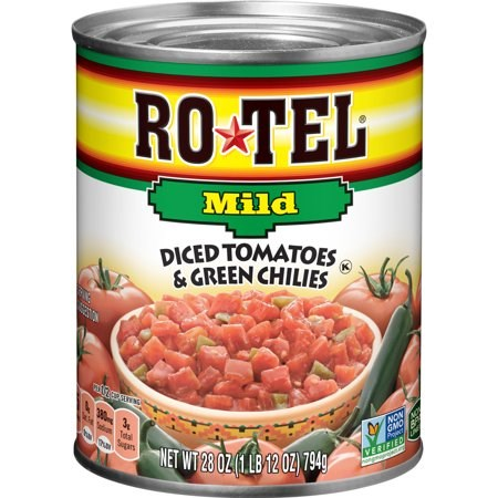 Rotel Diced Tomatoes Mild