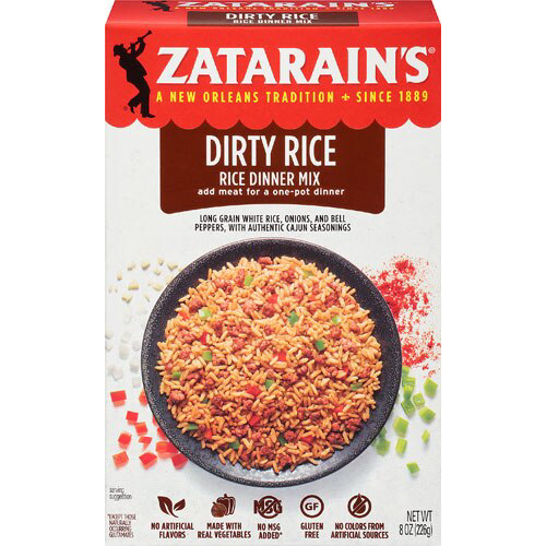 Zatarain's Dirty Rice Mix 8oz