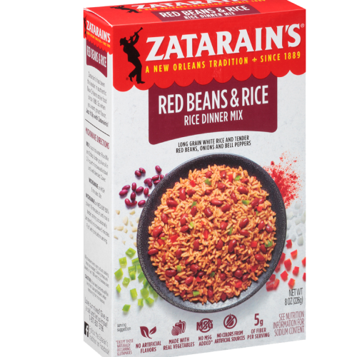 Zatarain's Red Beans & Rice Dinner Mix 8oz