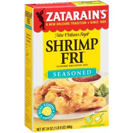 Zatarain's Seasoned Shrimp Fri Seafood Breading Mix