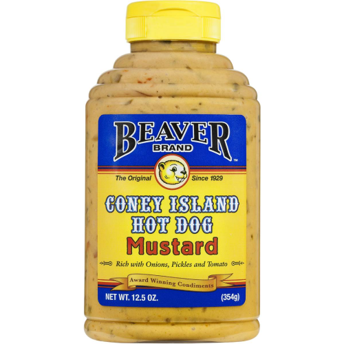Beaver Coney Island Hot Dog Mustard