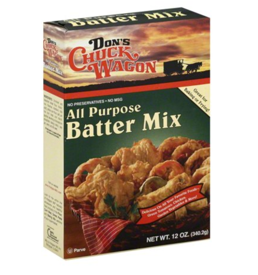 Don's Chuck Wagon All Purpose Batter Mix 12oz